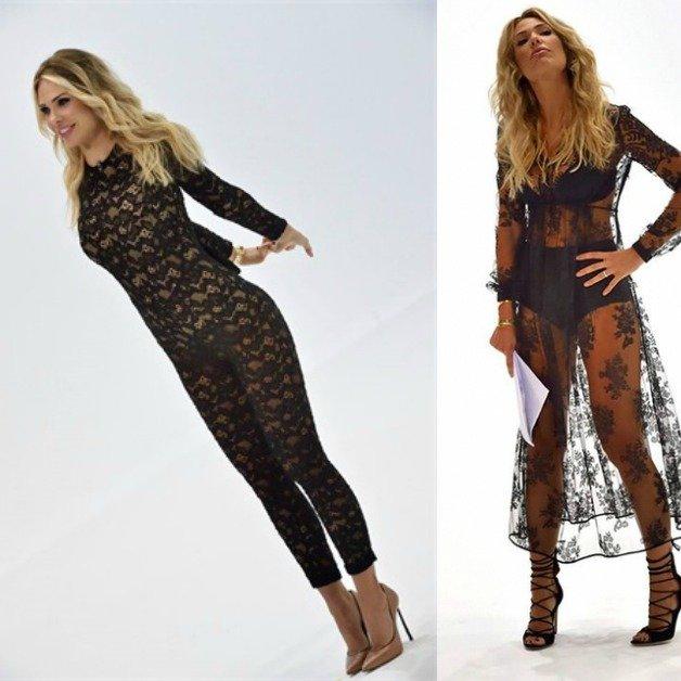 Il vestito di Ilary Blasi fa scatenare e impazzire il Web