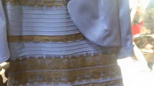 1425039339 vestito embed 600x335 - Il web si divide sul colore di un vestito.Ecco perché i nostri occhi percepiscono toni così diversi