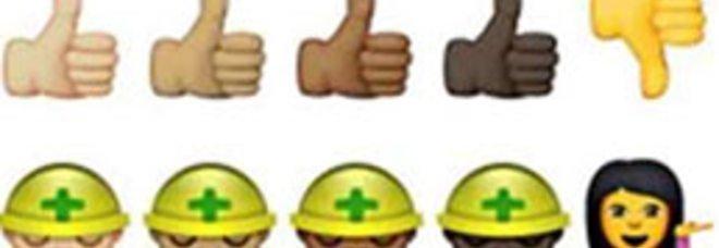 """Emoji, arriva la svolta """"politically correct"""": le """"faccine"""" diventano multiculturali"""