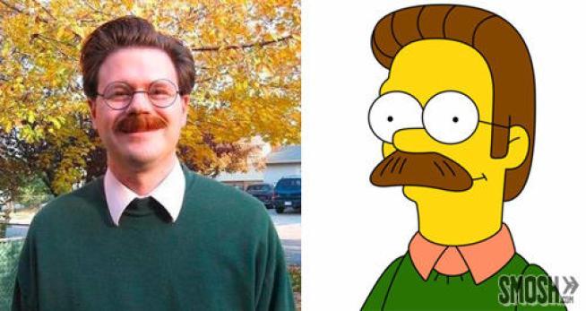 Come sarebbero i Simpson nella vita reale