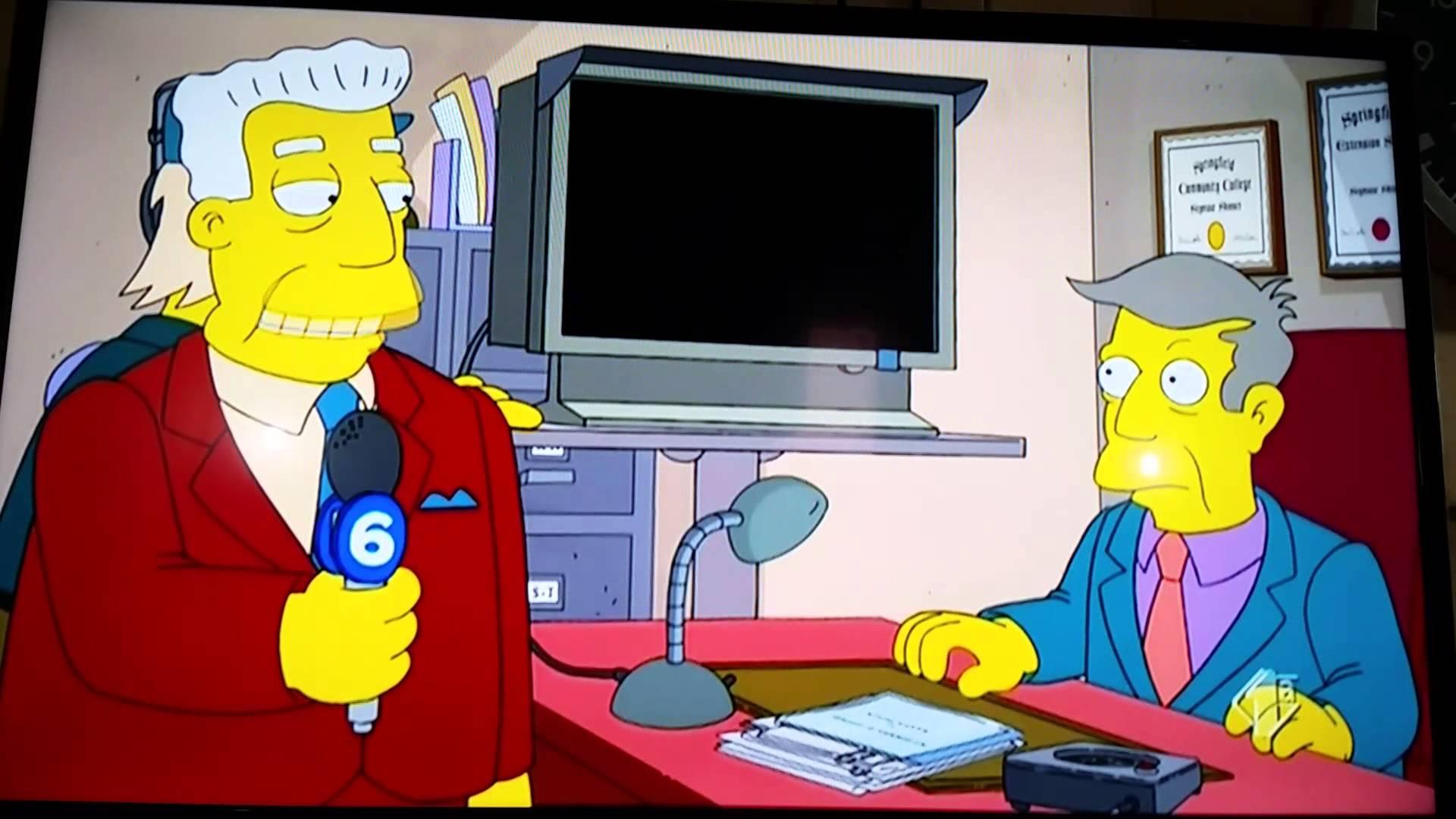 I Simpson insultano il parlamento italiano
