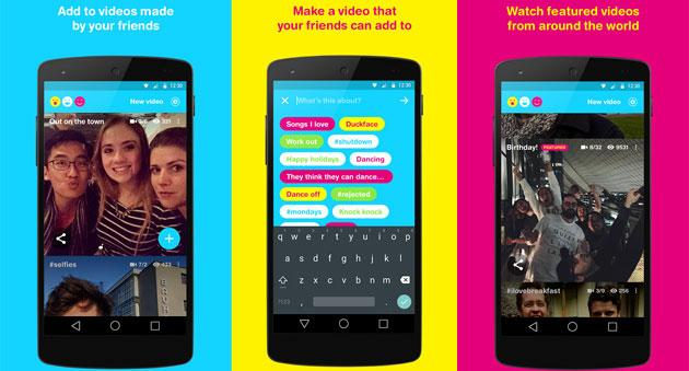 Facebook Riff, app per creare video-collage