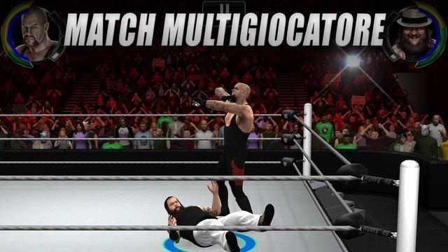 WWE-2K, il wrestling per Android e iOS