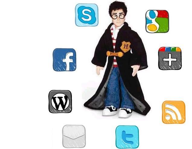 E se i personaggi animati avessero i Social Network?