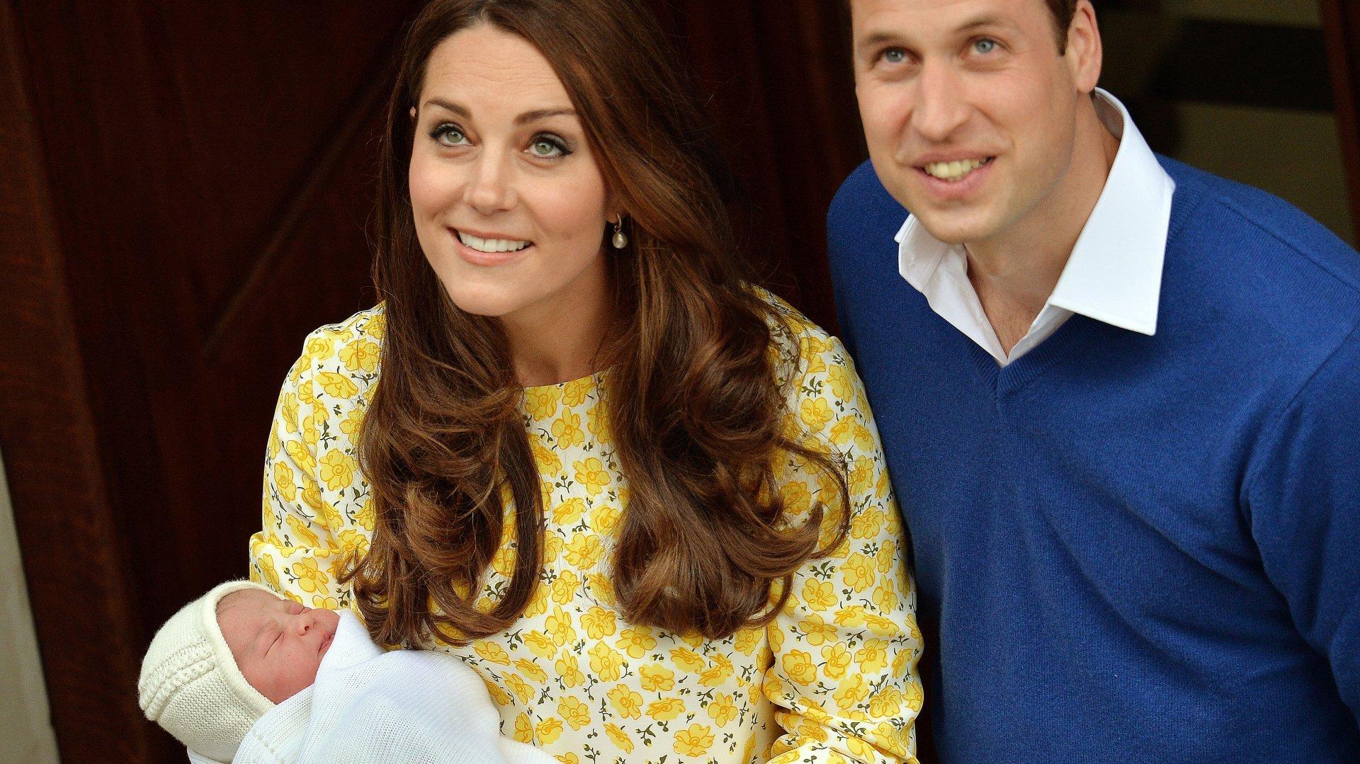 "La Royal baby si chiama Charlotte Elizabeth Diana, tris ""ecumenico"""