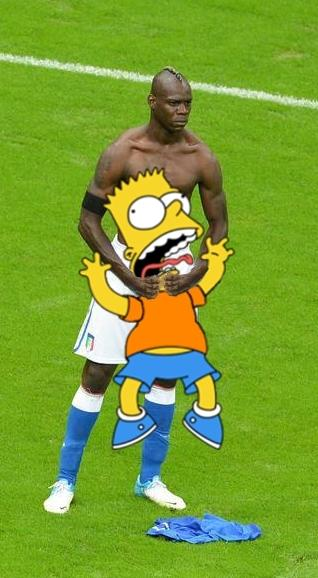 Le foto divertenti su Balotelli