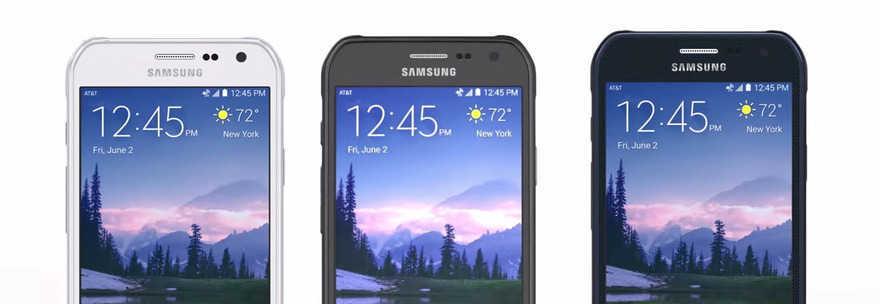 Samsung Galaxy S6 active: ECCO COME SARA'