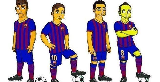 Parodia animata del Juventus 1-3 Barcellona