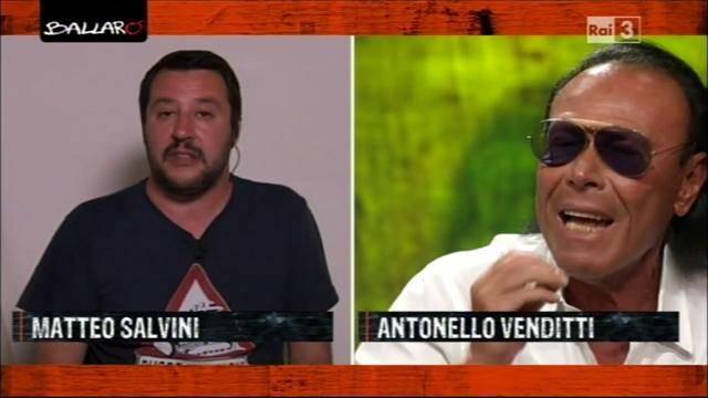 Litigio tra Salvini e Antonello Venditti