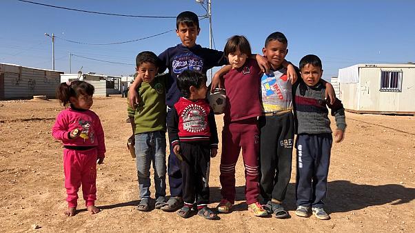 campo profughi - Isis o Batman?