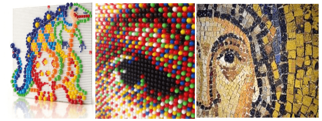 I chiodini prima dei pixel e nuovi decori